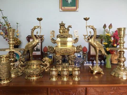 vị trí đặt bàn thờ trong phòng trọ phong thủy