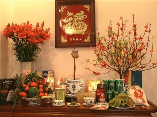 bàn thờ ở nhà thuê