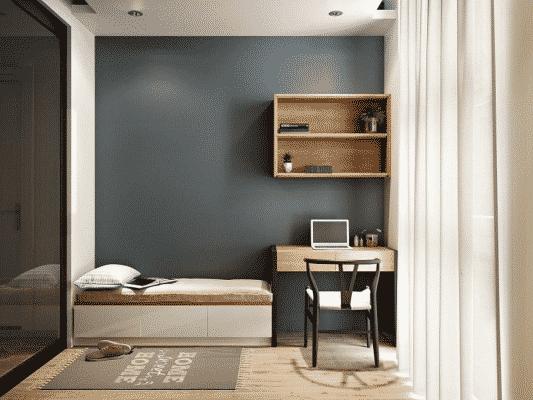 Trang trí phòng trọ kiểu Hàn Quốc với đồ nội thất thấp