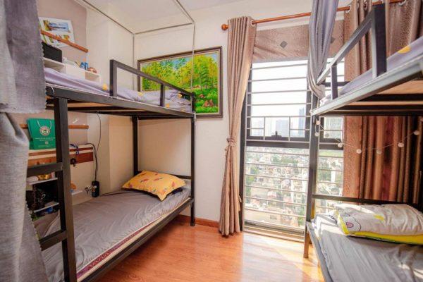 Mẫu thiết kế nhà trọ kiểu homestay trung tâm thành phố