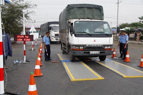 quy định tải trọng xe tải