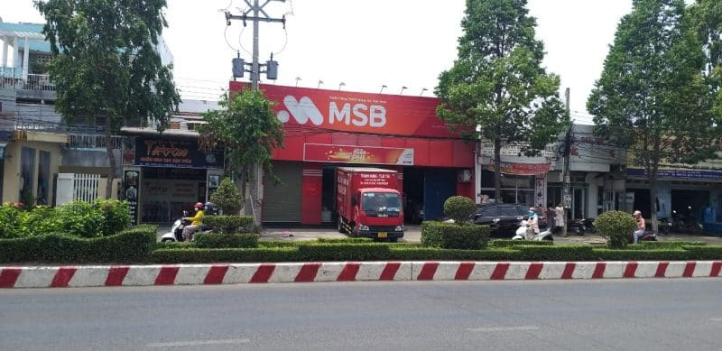 chuyển văn phòng MSB Bank 3