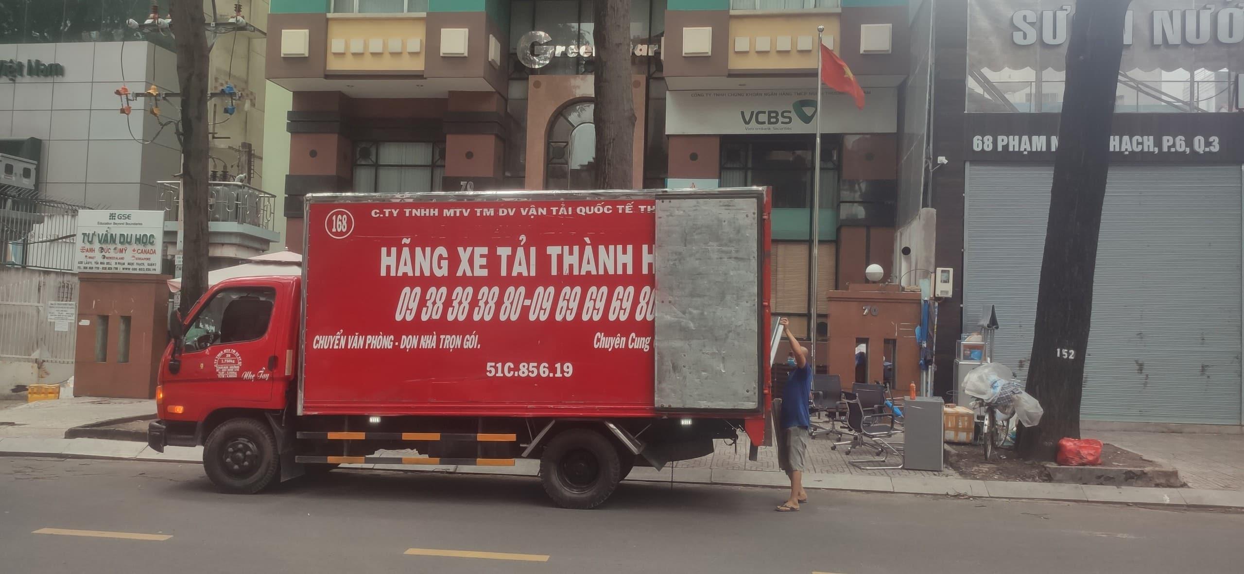 Xe tải chở hàng tphcm thành hưng, 1