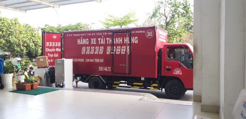 Thành hưng vận chuyển văn phòng cho MB Bank và Shinhan Bank 3