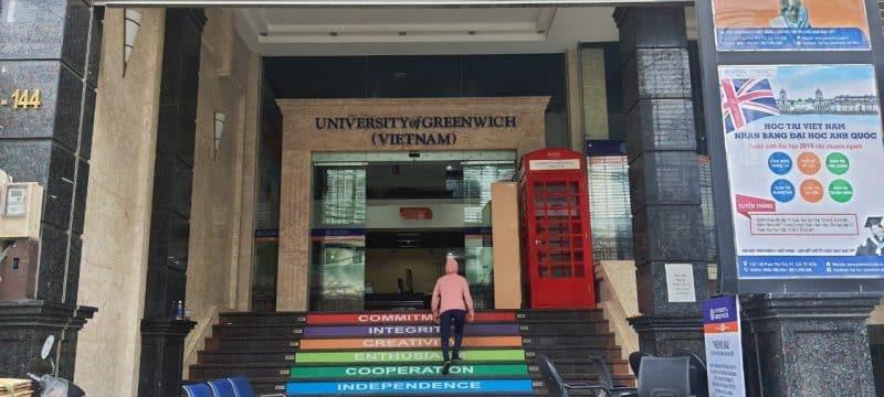 đại học greenwich Việt Nam 1