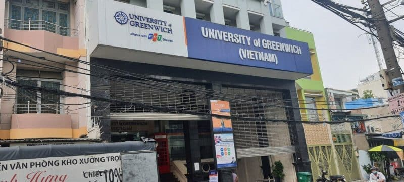 đại học greenwich Việt Nam 2